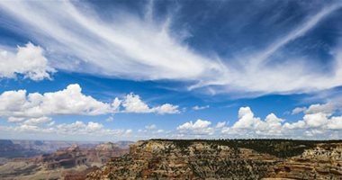 مناظر خلابة لحديقة جراند كانيون في أريزونا الأمريكية