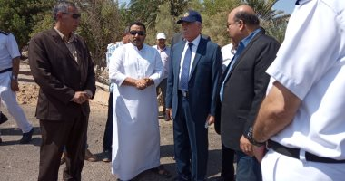 صور .. محافظ جنوب سيناء يتفقد مشروعات مدينة الطور  وجامعة الأزهر