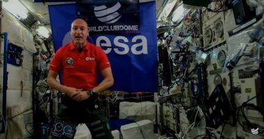 أول دى جى فى الفضاء.. رائد إيطالى ينسق موسيقاه فى المحطة الدولية.. فيديو