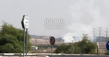 إطلاق ثلاثة صواريخ على جنوب إسرائيل وجيش الاحتلال يقصف قطاع غزة.. صور
