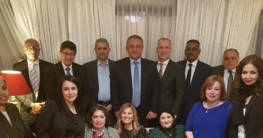 """صور.. السفير اللبنانى باستراليا يقيم حفل عشاء لتوديع السفير """"خيرت"""""""