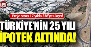 صحيفة تركية: تركيا تحت الرهن العقارى وتكلفة المشروعات تخرج من جيب الأتراك