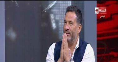 """ماجد المصرى لـ""""خالد أبو بكر"""": المسرح مدرسة حقيقية لتقييم الممثلين"""