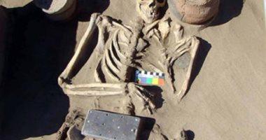 """مفاجأة .. اكتشاف مومياء فى روسيا عمرها 2000 عام بحوزتها جهاز يشبه الـ""""أيفون """""""