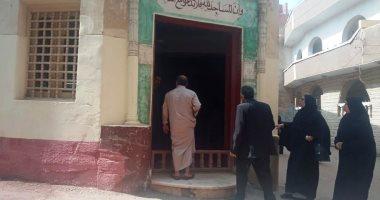 قرية عالم الذرة أبوبكر عبدالمنعم تتشح بالسواد قبل وصول الجثمان.. صور