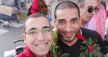 صور.. بطل تنس الأهلى عن الفوز بالبطولة العربية: من قلب المحنة تولد المنحة