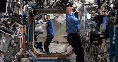 لأول مرة.. رواد الفضاء يصنعون أسمنت خارج الأرض.. صور
