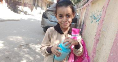 أول يوم مدرسة.. سامى يشارك بصور لطفليه منصور ولوجى