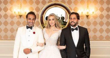"""فرح أحمد فهمى.. هشام ماجد: """"لقد هرمنا من أجل هذه اللحظة"""""""