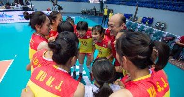 الصين تتأهل إلى نصف نهائى بطولة العالم لناشئات الطائرة