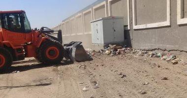 صور.. رفع 162 طن قمامة فى حملات نظافة بالأقصر وكفر الشيخ