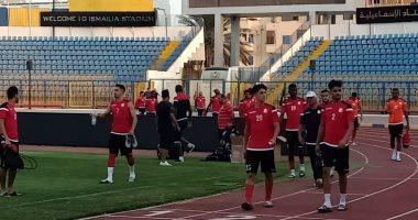 صور .. بلحوت يعاين ملعب الإسماعيلية قبل مواجهة كأس العرب