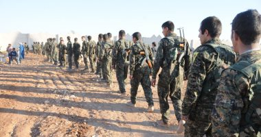 """""""قسد"""" تتصدى لهجوم لقوات الاحتلال التركية فى منطقة صوامع الحبوب شمالى سوريا"""