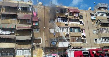 السيطرة على حريق داخل شقة سكنية فى الدقى دون إصابات