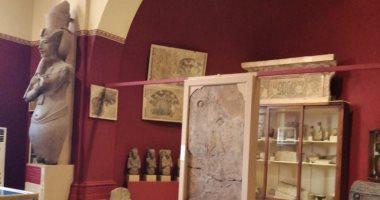 صور.. الآثار ترد على منتقدى لون طلاء المتحف المصرى فى التحربر: اصبروا