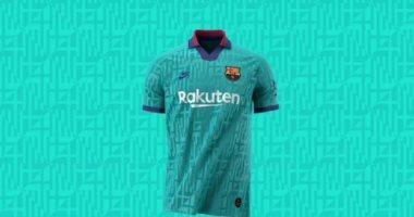 برشلونة يكشف عن القميص الثالث فى الموسم الحالى..فيديو وصور