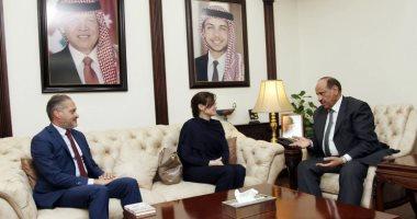 وزير الداخلة الأردنى يلتقى ممثل مفوضية الأمم المتحدة لشئون اللاجئين