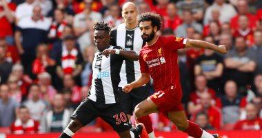 ليفربول يتفوق على نيوكاسل يونايتد 2 - 1 فى الشوط الأول.. فيديو