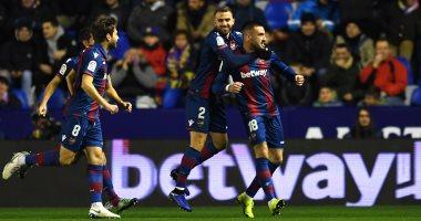 ليفانتى يحول النتيجة إلى 3-2 ويهدد ريال مدريد فى آخر ربع ساعة.. فيديو