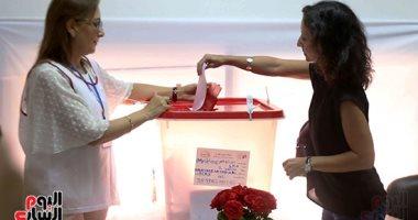 صور.. إقبال من الجالية التونسية بمصر على الاقتراع فى الانتخابات الرئاسية
