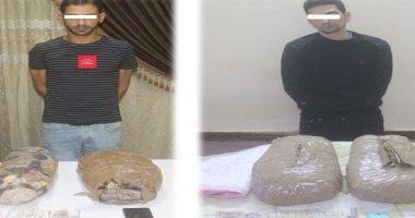 ضبط متهمين بحوزتهما 9 كيلو من مخدر البانجو