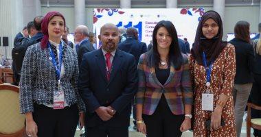 الدكتورة رانيا المشاط تعقد لقاءات ثنائية خلال مشاركتها فى اجتماعات السياحة العالمية