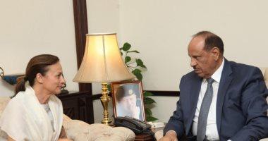 """وزير الداخليه الأردنى يلتقى ممثل منظمة الأمم المتحدة للطفولة """"اليونيسف"""""""