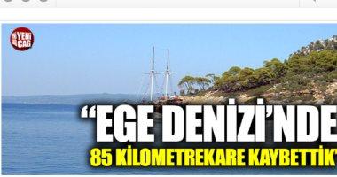 """صحيفة تركية تحذر من """"التصحر"""".. وجنرال سابق: بحر أيجة يتأكل وفقد 85 كم"""