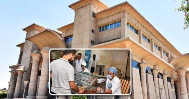 مدن جامعة عين شمس تتجهز لاستقبال الطلاب بالعام الدراسى الجديد