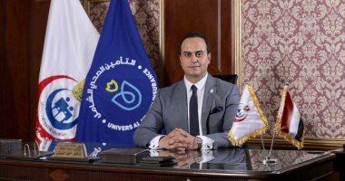 الدكتور أحمد السبكى رئيس هيئة الرعاية الصحية