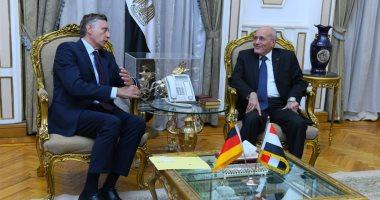 العصار يبحث مع سفير ألمانيا فى القاهرة سبل تعزيز التعاون المشترك