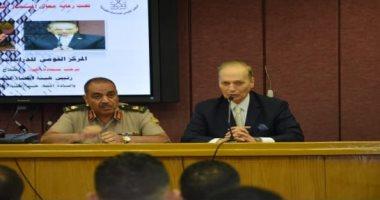 افتتاح الدورة التدريبية لدفعتى 94 و 95 قضاء عسكرى بمركز الدراسات القضائية