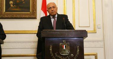 وزير الخارجية يجرى اتصالات هاتفية مع نظرائه من جنوب أفريقيا وتونس وكندا
