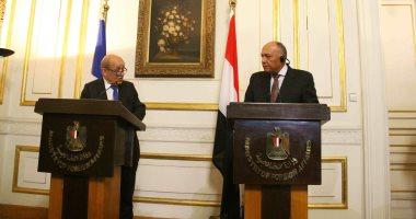 صور.. وزير خارجية فرنسا: تحركات مع مصر لرفع اسم السودان من قوائم الإرهاب