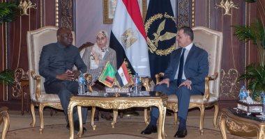 وزير الداخلية لنظيره الزامبى: حريصون على دعم الشرطة الأفريقية
