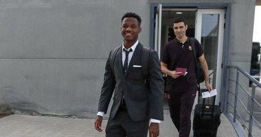 أنسو فاتى أصغر لاعب فى تاريخ برشلونة يشارك فى دورى أبطال أوروبا