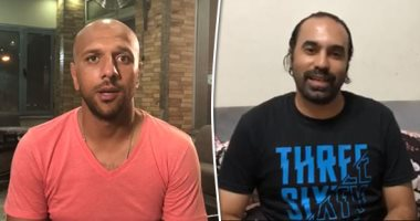 """""""معتز اينو"""" و""""جمال حمزة"""" يشاركان في مبادرة """"لا للتعصب"""""""