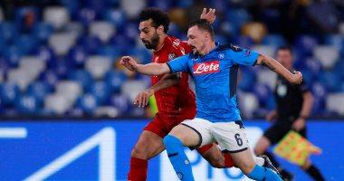 نابولى ضد ليفربول.. بطل إيطاليا يستحوذ وتعادل سلبى بعد 15 دقيقة