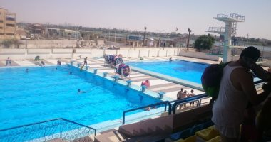 """""""تأجير حمام السباحة وقاعات الأفراح"""" بوابة مراكز شباب بنى سويف للحصول على عائد"""