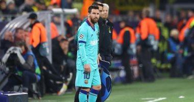 دورتموند ضد برشلونة.. ميسي يظهر للمرة الأولى بعد تعافيه من الإصابة