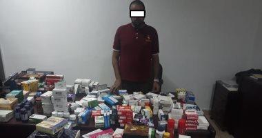 القبض على صاحب صيدلية بحوزته 9200 عقاقير مهربة جمركيا فى مدينة نصر