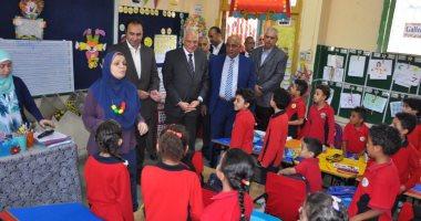 محافظ الجيزة: الانتهاء من صيانة 3600 مدرسة ودخول 42 مدرسة جديدة الخدمة