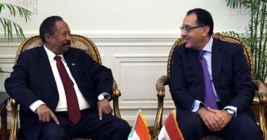 بدء جلسة المباحثات الثنائية بين رئيس الوزراء ونظيره السودانى