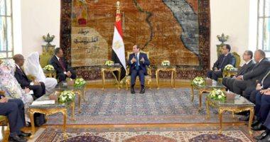 فيديو.. السيسى يؤكد حرص مصر على عودة السودان لدوره الطبيعى فى محيطه الإقليمى
