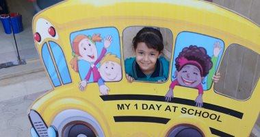 """أول أيام الدراسة.. """"مليكة"""" تبدأ مشوار التعليم بـkg1  وتتمنى أن تصبح طبيبة"""