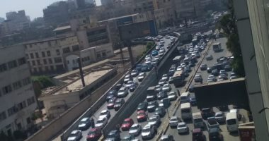 النشرة المرورية .. كثافات مرتفعة بمحاور القاهرة و الجيزة
