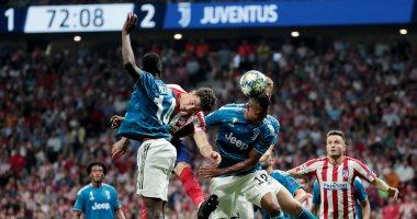 أتليتكو مدريد يقتنص تعادلا قاتلا أمام يوفنتوس فى دورى أبطال أوروبا.. فيديو