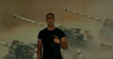 """ثقة فى الله ستظل مصر قوية.. محمد رمضان يرد على مهاترات السوشيال بأغنية """"جيشنا صعب"""".. فيديو"""