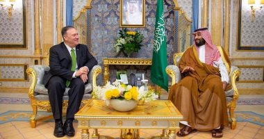 ولى العهد يجتمع مع وزير خارجية أمريكا.. وبومبيو: ندعم السعودية فى الدفاع عن نفسها