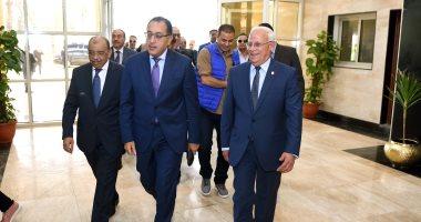 رئيس الوزراء يستعرض تجربة الشباك الواحد لخدمة المواطنين ببورسعيد